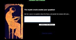 L'Oracle de Delphes consulte désormais en ligne !