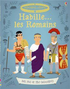 Habille... les Romains (avec plus de 180 autocollants)