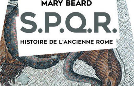 l historienne anglaise mary beard a re u le prix du livre d histoire de l europe pour spqr paru. Black Bedroom Furniture Sets. Home Design Ideas