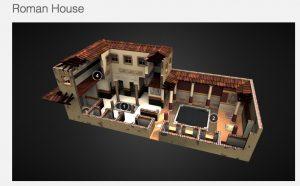 Un plan de domus en 3D