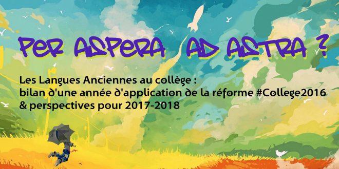 Grande enquête ATC de fin d'année : les Langues Anciennes au collège