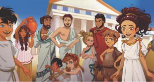 """Arrête Ton Char, partenaire du jeu """"Mythology Quest : La Chouette et le Péplos"""""""
