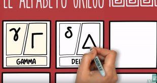Video : apprendre à écrire l'alphabet grec