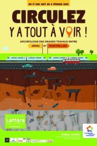 Circulez, y a tout à voir ! Archéologie des grands travaux entre Nîmes et Montpellier @ Site archéologique Lattara   Lattes   Occitanie   France