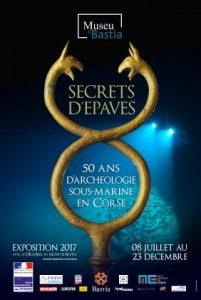 Secrets d'épaves. 50 ans d'archéologie sous-marine en Corse @ Musée de Bastia | Bastia | Corse | France