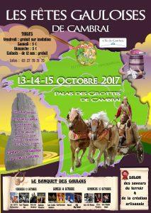 Les fêtes gauloises de Cambrai @ Palais des Grottes de Cambrai | Cambrai | Hauts-de-France | France