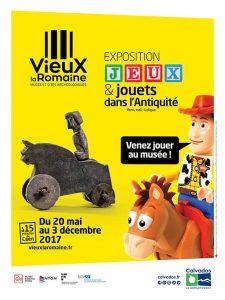 Jeux et jouets dans l'Antiquité @ Vieux la Romaine | Vieux | Normandie | France