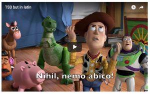 Des bandes annonces de films traduites en latin !