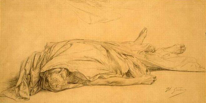 HDA – La mort de César, Jean-Léon Gérôme (1859-1867)