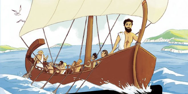 3 héros de la mythologie : Ulysse, Ariane et le roi Midas - Arrête ton char