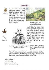 Apprendre le latin avec Bilbo le Hobbit, c'est possible !