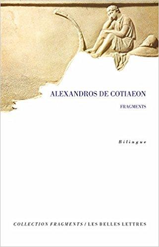 Fragments de Alexandros de Cotiaeon