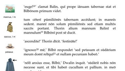 Legonium / Apprendre le latin avec Bilbo Le Hobbit, partie 2