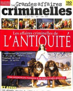 Les grandes affaires criminelles #17 - Les affaires criminelles de l'Antiquité