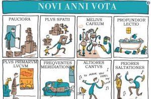Des bonnes résolutions en latin