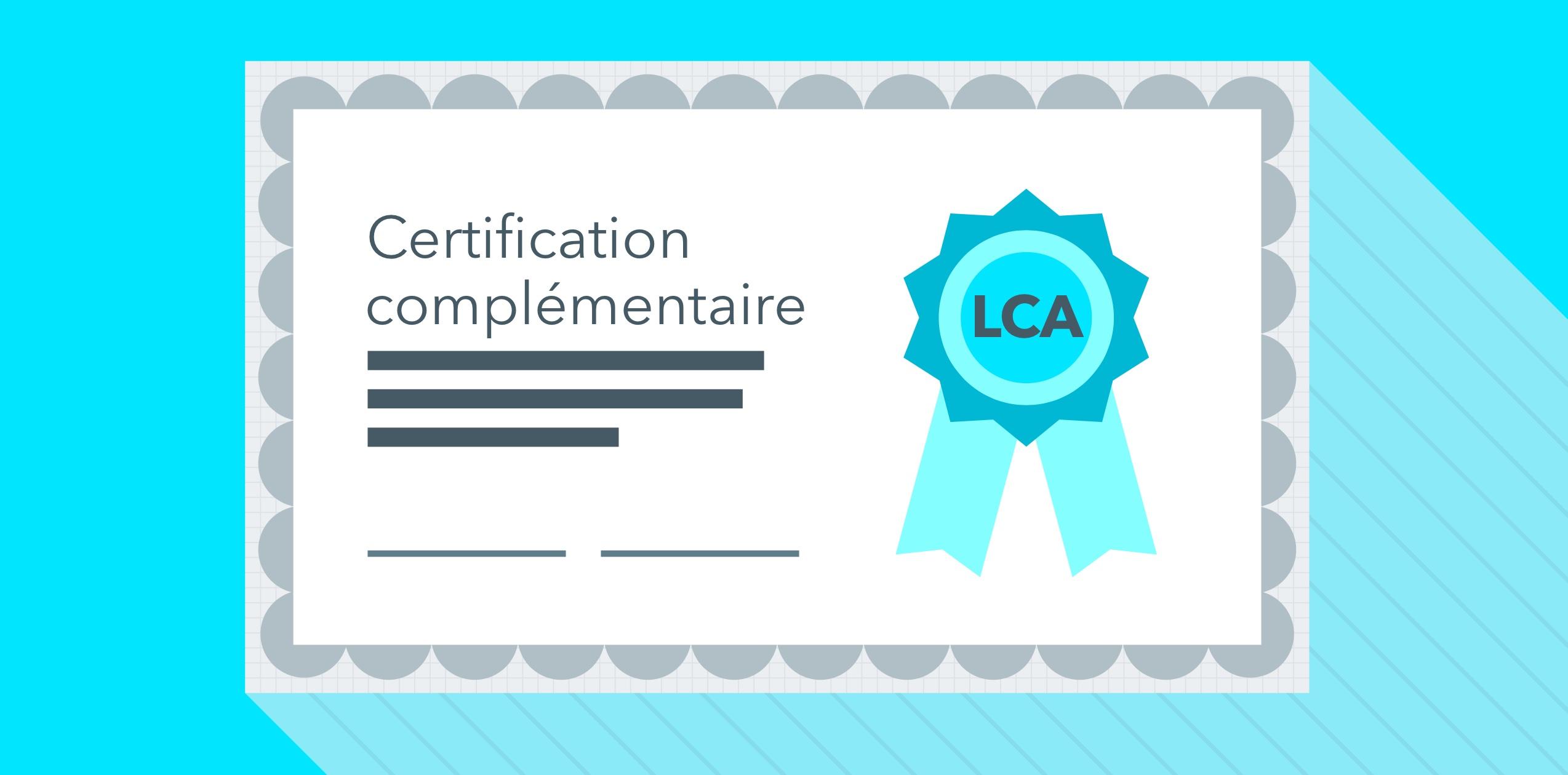 Pourquoi Une Certification Complmentaire Lca Mj Arrte Ton Char