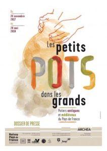 Les petits pots dans les grands : potiers antiques et médiévaux du Pays de France @ Musée Archéa, Louvres | Louvres | Île-de-France | France