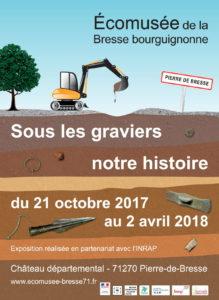 Sous les graviers, notre histoire @ Écomusée de la Bresse bourguignonne | Pierre-de-Bresse | Bourgogne Franche-Comté | France