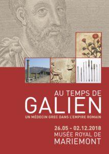 Au temps de Galien : un médecin grec dans l'empire romain @ Musée royal de Mariemont | Manage | Wallonie | Belgique