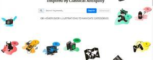 Base de données d'ouvrages, chansons, jeux... jeunesse faisant référence à l'antiquité