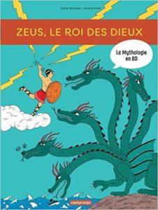 La mythologie en BD : Zeus, le roi des dieux
