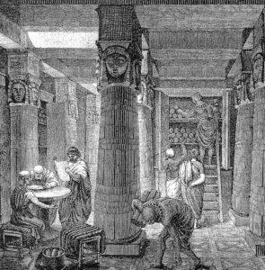 Une ancienne bibliothèque romaine découverte sous une ville allemande