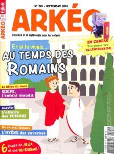 ARKÉO #265 - Au temps des Romains