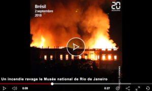 L'incendie du Musée de Rio a emporté aussi des fresques de Pompéi