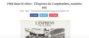 L'Express du 2 septembre, numéro 895 : Le latin perd une bataille