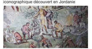 Un trésor iconographique découvert en Jordanie