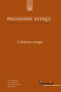 Philosophie antique #18 - L'athéisme antique