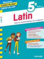 Cahier du jour/Cahier du soir Latin 5e (éd. 2019)