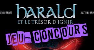 """Jeu-Concours """"Harald et le trésor d'Ignir"""""""