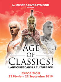 (Toulouse)  Age of Classics ! L'Antiquité dans la culture pop @ Musée Saint Raymond, Toulouse