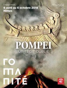 (Nîmes) Pompéi, un récit oublié (06 avril - 06 octobre 2019) @ Musée de la Romanité, Nîmes