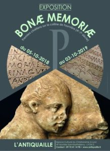 (Lyon) Bonae Memoriae  (Jusqu'au 3 octobre 2019) @ Antiquaille, Lyon