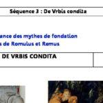 De Vrbis Condita : Plan d'une séquence sur la fondation de Rome