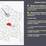 A consulter sur l'anticopédie : la carte des musées et sites archéologiques de France