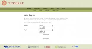 """L'outil """"The Tesserae Project """" propose de trouver les parallèles intertextuels entre deux auteurs (et leurs œuvres) en un clic"""