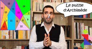 Arithm'Antique n°34 - Le puzzle d'Archimède