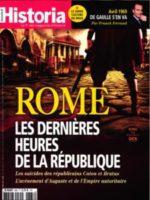 Historia #868 - Rome : Les dernières heures de la République