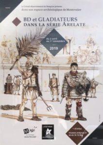Bd et Gladiateurs dans la série Arelate @ Montrozier