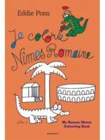 Le dessinateur Eddie Pons signe un cahier de coloriages sur la Nîmes romaine