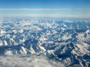 Le plomb de l'Antiquité romaine visible dans les glaces du Mont-Blanc