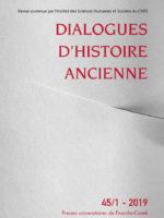 Dialogues d'histoire ancienne 45/1 - La violence au sein des sociétés antiques (1/3)