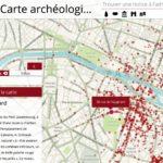 Carte (interactive) archéologique de Paris