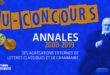 Résultats du Jeu-Concours –  Annales des agrégations externes de Lettres Classiques et Grammaire 2000-2019