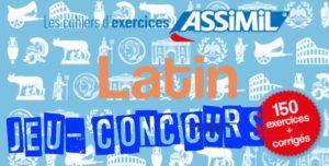 Résultats du Jeu-Concours - Cahier d'exercices Latin (débutants)