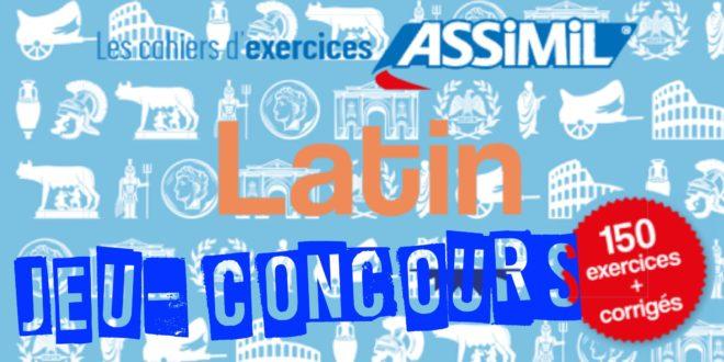 Résultats du Jeu-Concours – Cahier d'exercices Latin (débutants)