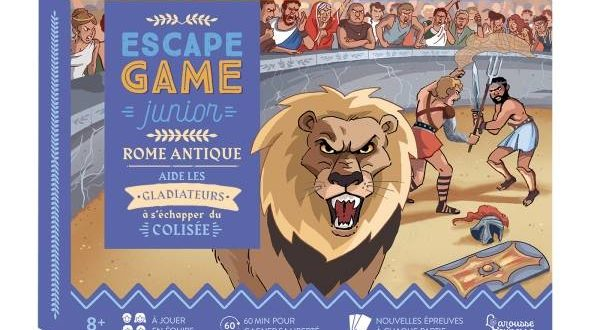 Escape Game Junior – Rome antique